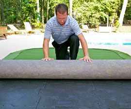 Dave Pelz GreenMaker: Do-It-Yourself Putting Green ...