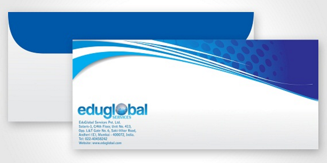 customizing your envelopes can show how professional your company is