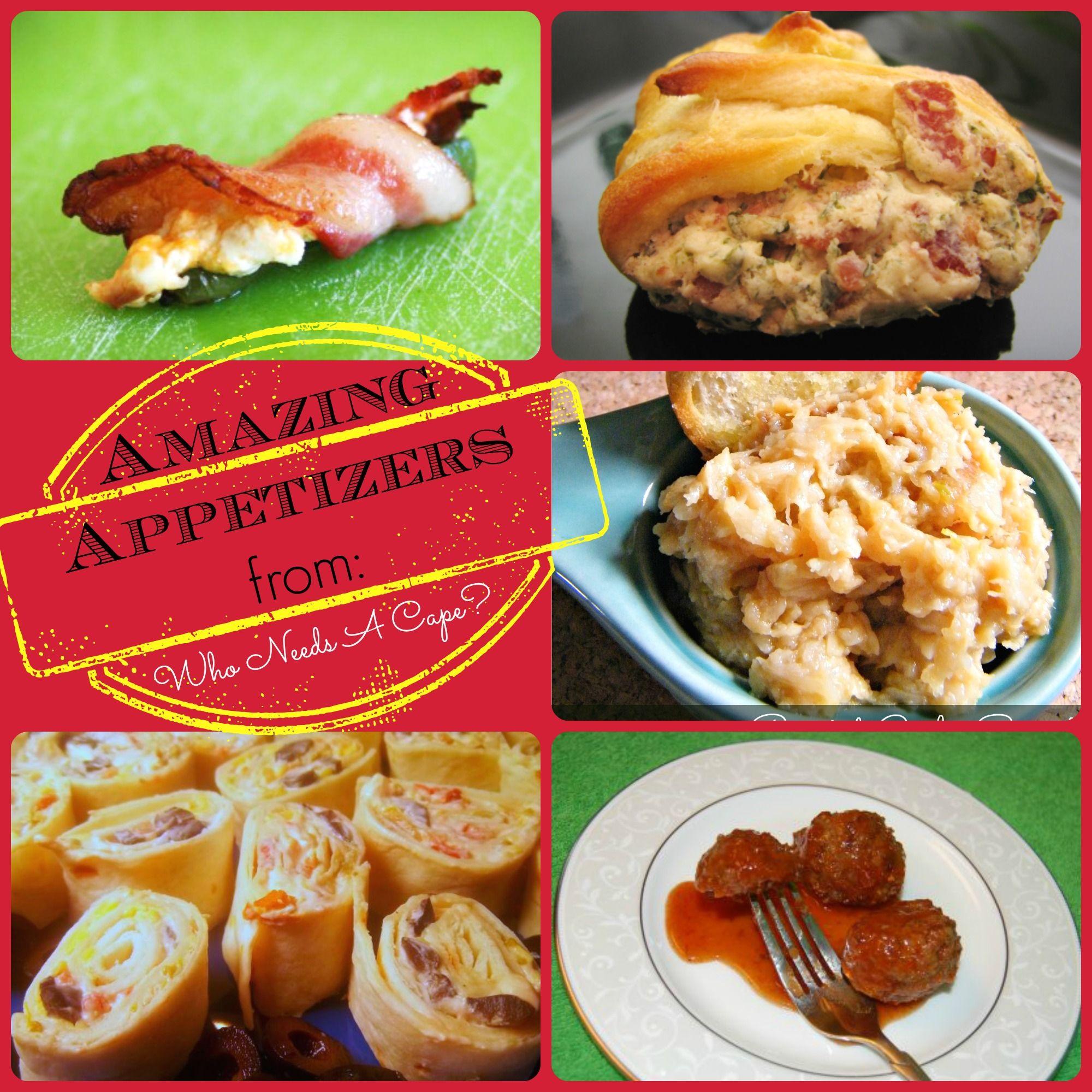 Best Appetizers, Bacon Appetizers