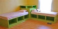 Twin Corner Bed Units I Could See This As A Reading