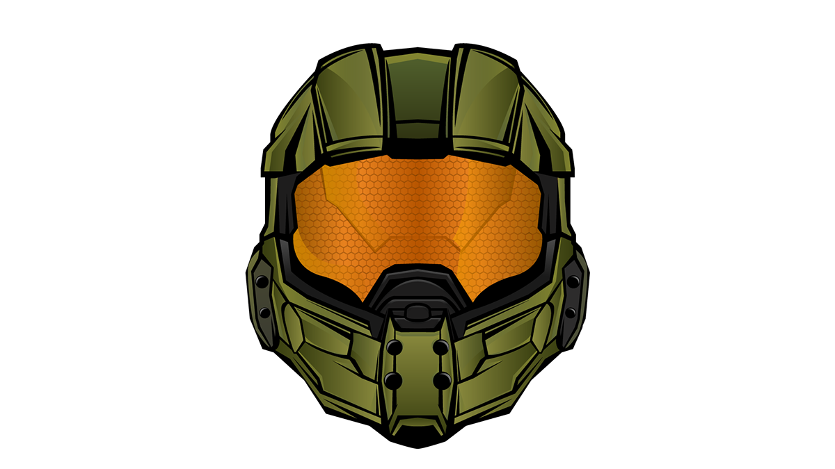 Halo 5 Master Chief Legendary Emblem On Behance Halo 5 Halo Halo Video Game