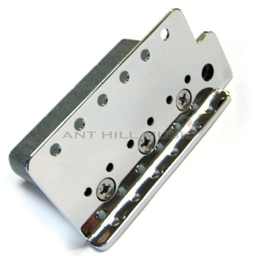 Genuine Mexican Fender Stratocaster Bridge Plate and High Mass Block ...