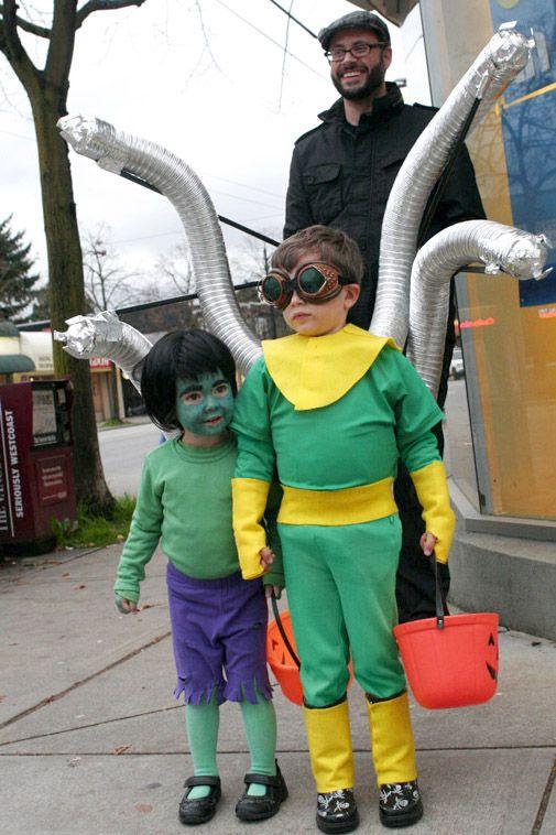 Doc Ock Homemade Costume Costumes Halloween And More Halloween