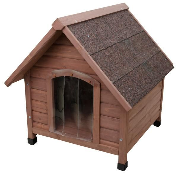 Wooden Dog House Classic Kennel With Pitched Roof Wooden Dog House