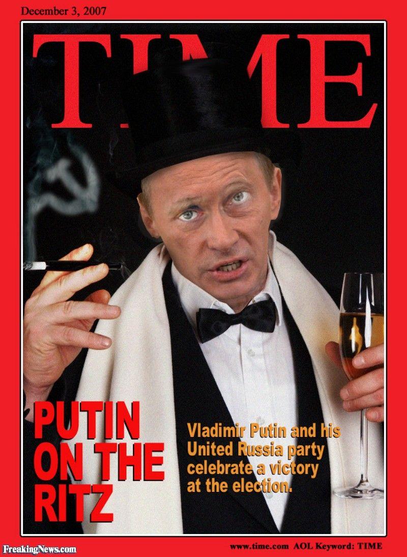 Vladimir Putin On Time Magazine Cover Vladimir Putin United Russia Time Magazine