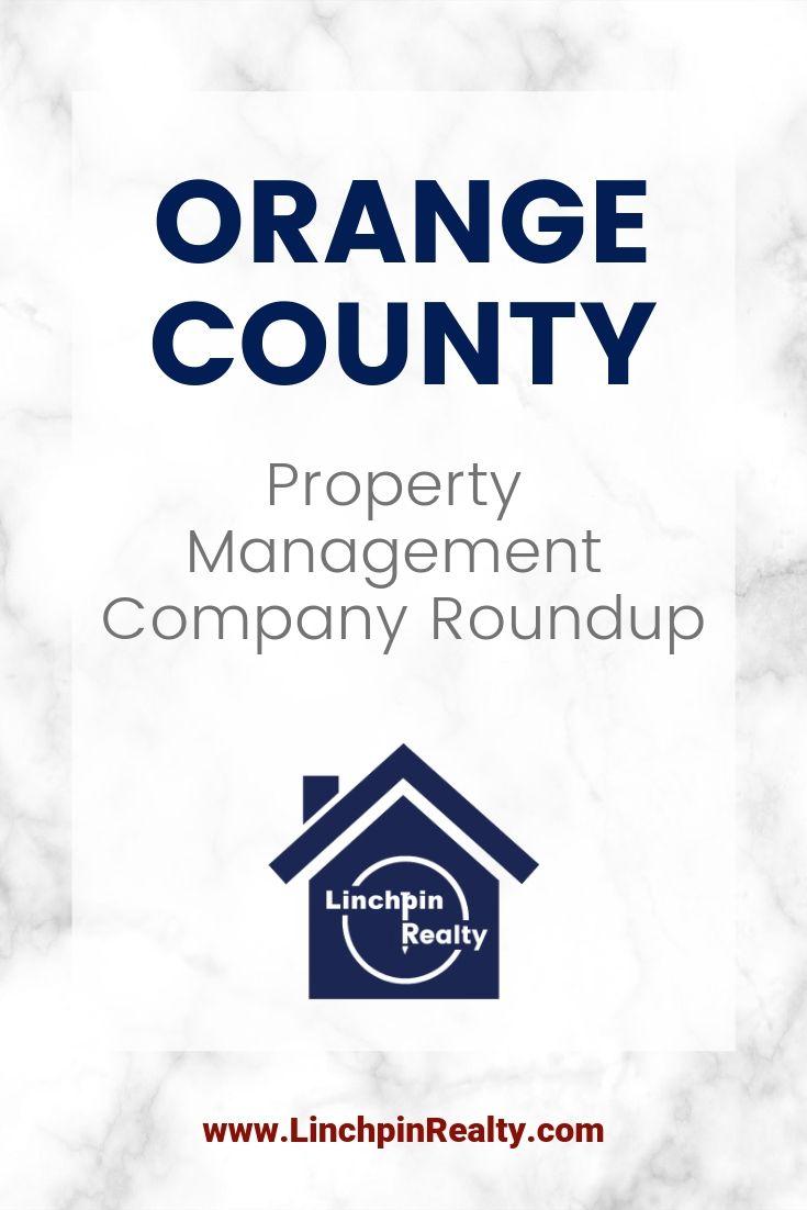 Orange county property management company roundup