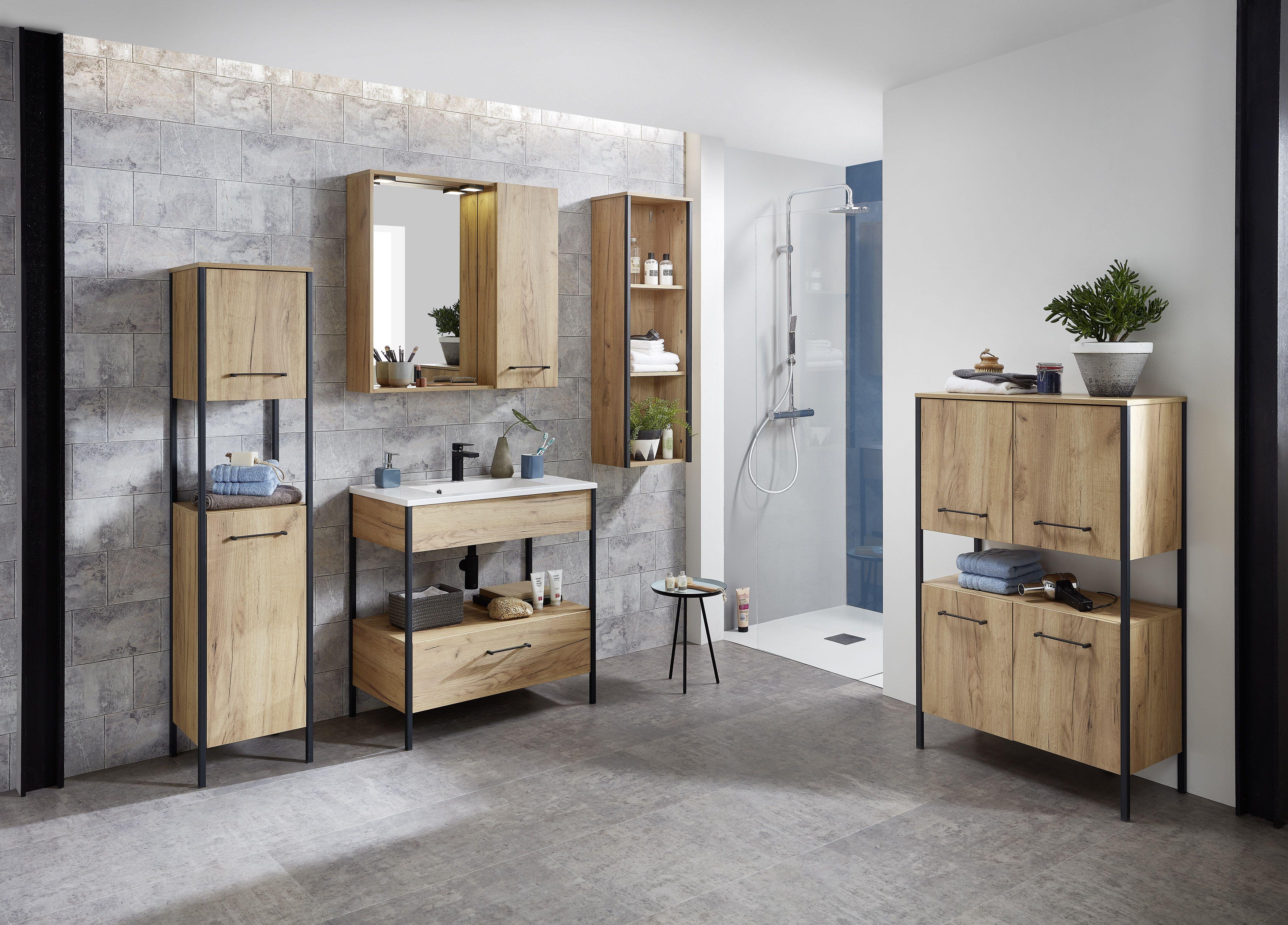 Gw Gintano Badmobel Mit Wellnessfaktor Furs Zuhause Badmobel Bad Bader Bathroom Spiegelschrank Waschtis Klassische Badmobel Loft Stil Bad Einrichten