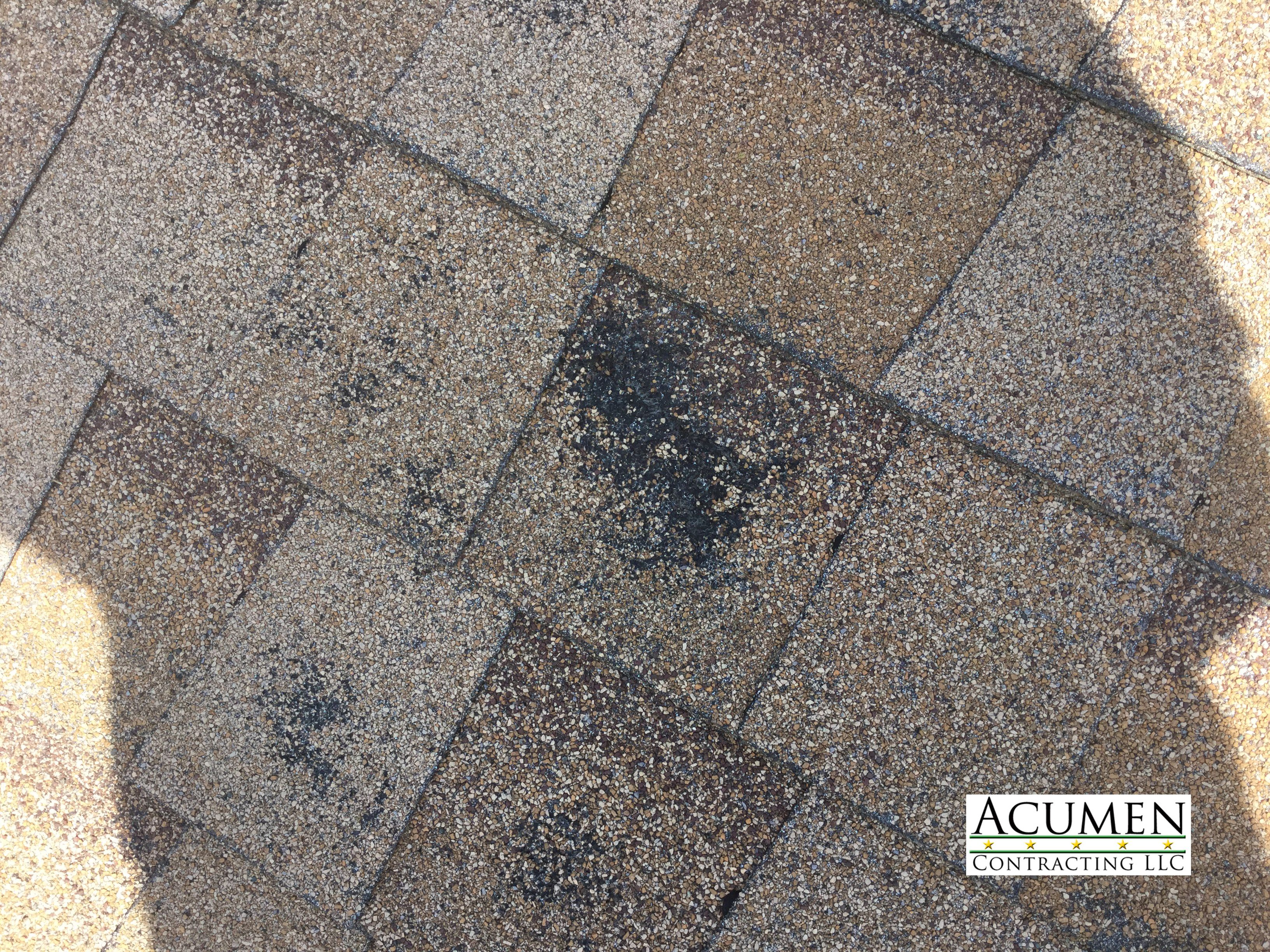 Hail damaged roof in alvord texas roofing tile floor roof