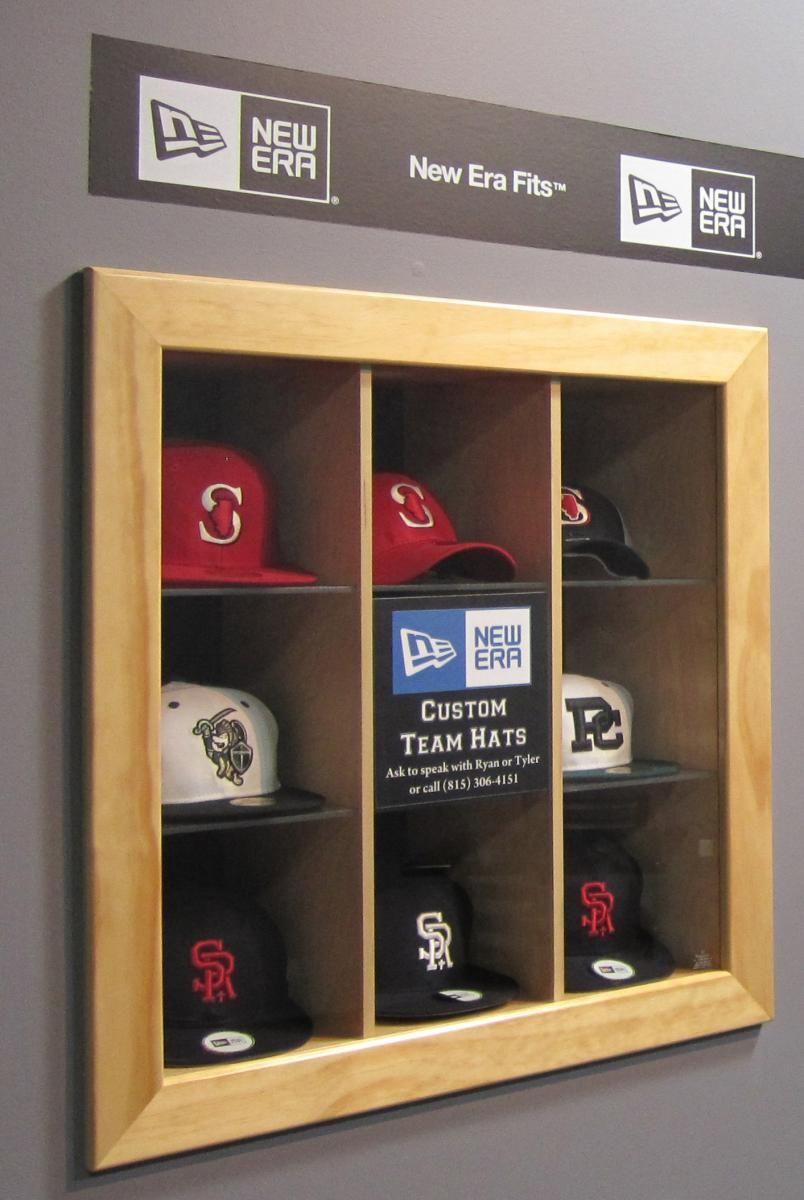 Baseball Hat Display Hat Display Collectible Display Ideas Baseball Hat Display