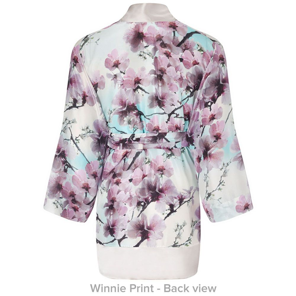Short Kimono Winnie Print (With images) 12th wedding