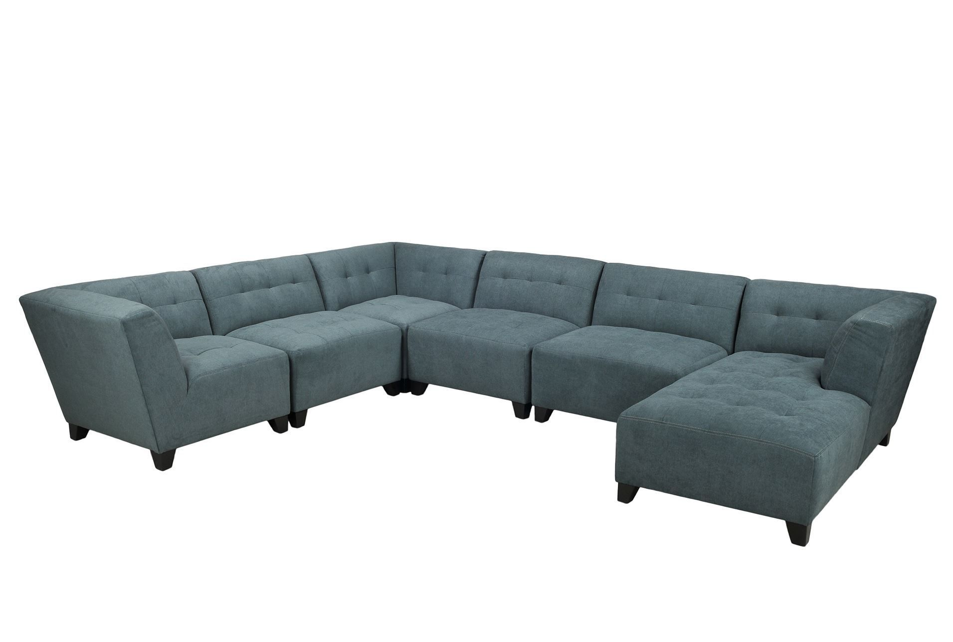 Maxwell 6 Piece Sectional W Raf Chaise