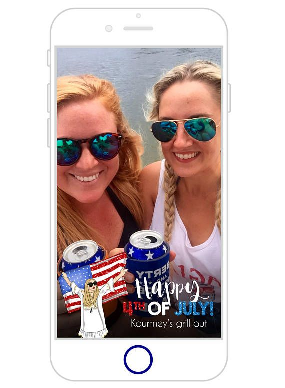 Red, White, & Bougie Bach Snapchat Filter | Patriotic Bachelorette