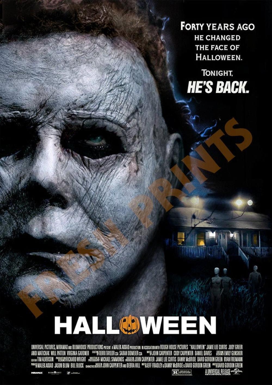 Halloween 2018 Poster Etsy Halloween 2018 Halloween Design Michael Myers Halloween