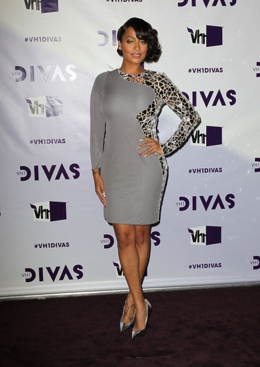 La La Anthony VH1 Divas 2012 held at The Shrine Auditorium
