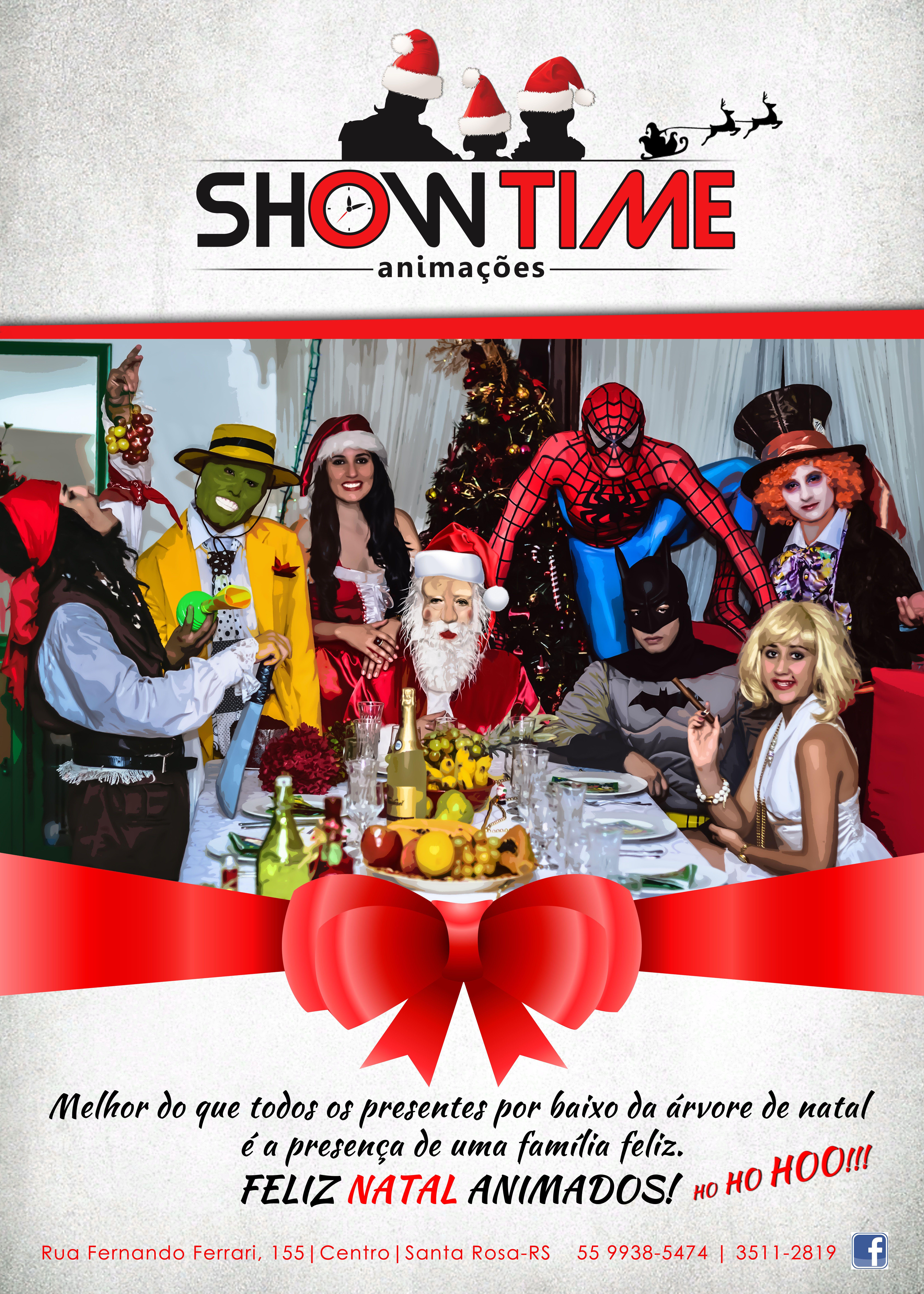 Página de revista - Show Time Animações