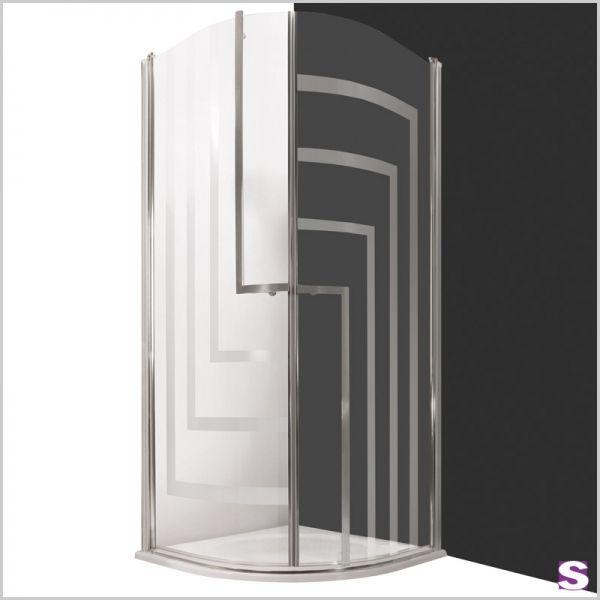 Dusche Heli   Die Türen Der Viertelkreis Duschkabine Heli Lassen Sich Voll  Nach Innen Und