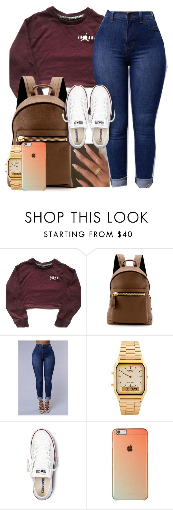 """""""Fettish"""" by imwhit ❤ liked on Polyvore featuring Tom Ford, American Apparel and Converse"""