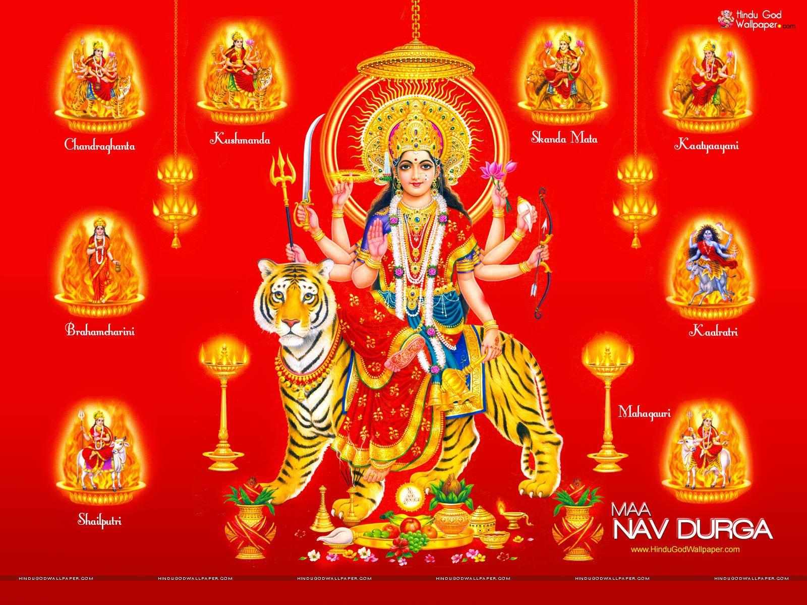Shubh Navratri HD Wallpapers 2014 Durga Puja Wallpapers