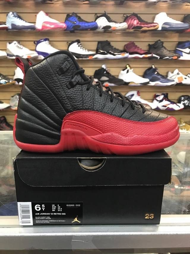 timeless design 88ec0 69301 AIR JORDAN 12 RETRO BG (GS)