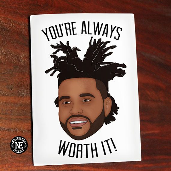 Youre Always Worth It - Hip Hop Anniversary Card | Weekend