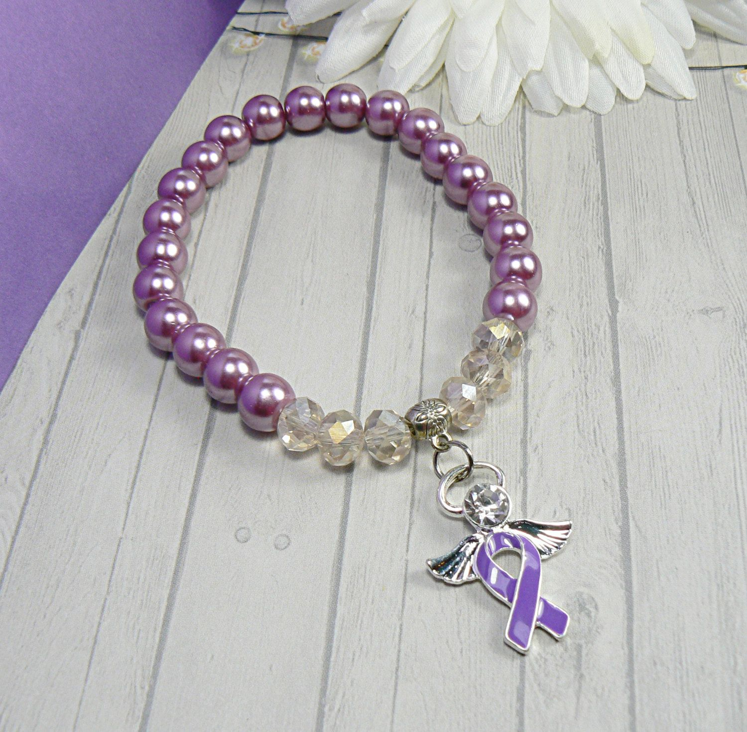 of pin benefits purple alzheimer awareness sale s caregivers bracelet bracelets gemstone unpaid each