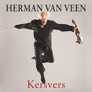 Herman van Veen maakte een nieuwe cd, zijn honderdachtenzeventigste: Kersvers