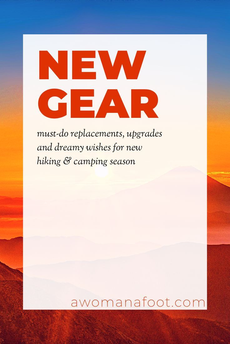 Photo of Gear Updates: All the Must-Haves, Upgrades, and Dreamy Wishes for the Next Season. — A Woman Afoot
