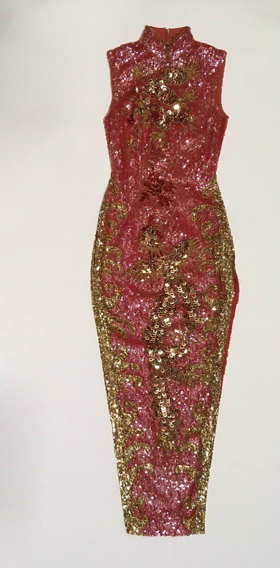 42310db22 Pin by Roberta Gardner on BLING!!!   Dresses, Sequin dress, Pink dress