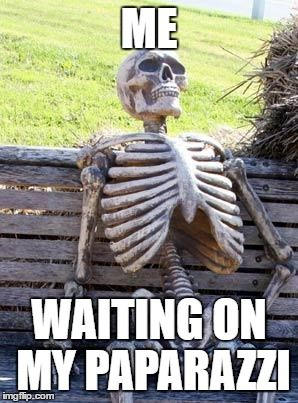 A Waiting Skeleton meme  Caption your own images or memes