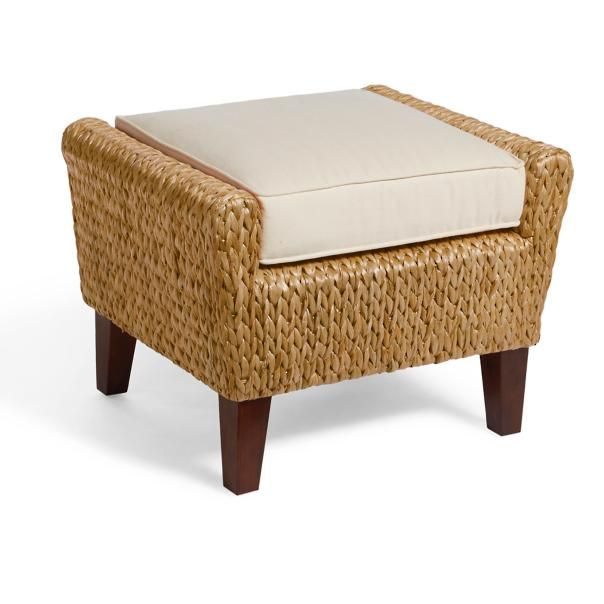 Kent Ottoman with Cushion | Home Beach SC | Pinterest
