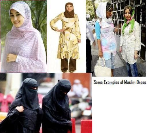 middle eastern womens head coverings images | Islamic Clothing | Women in the Middle East