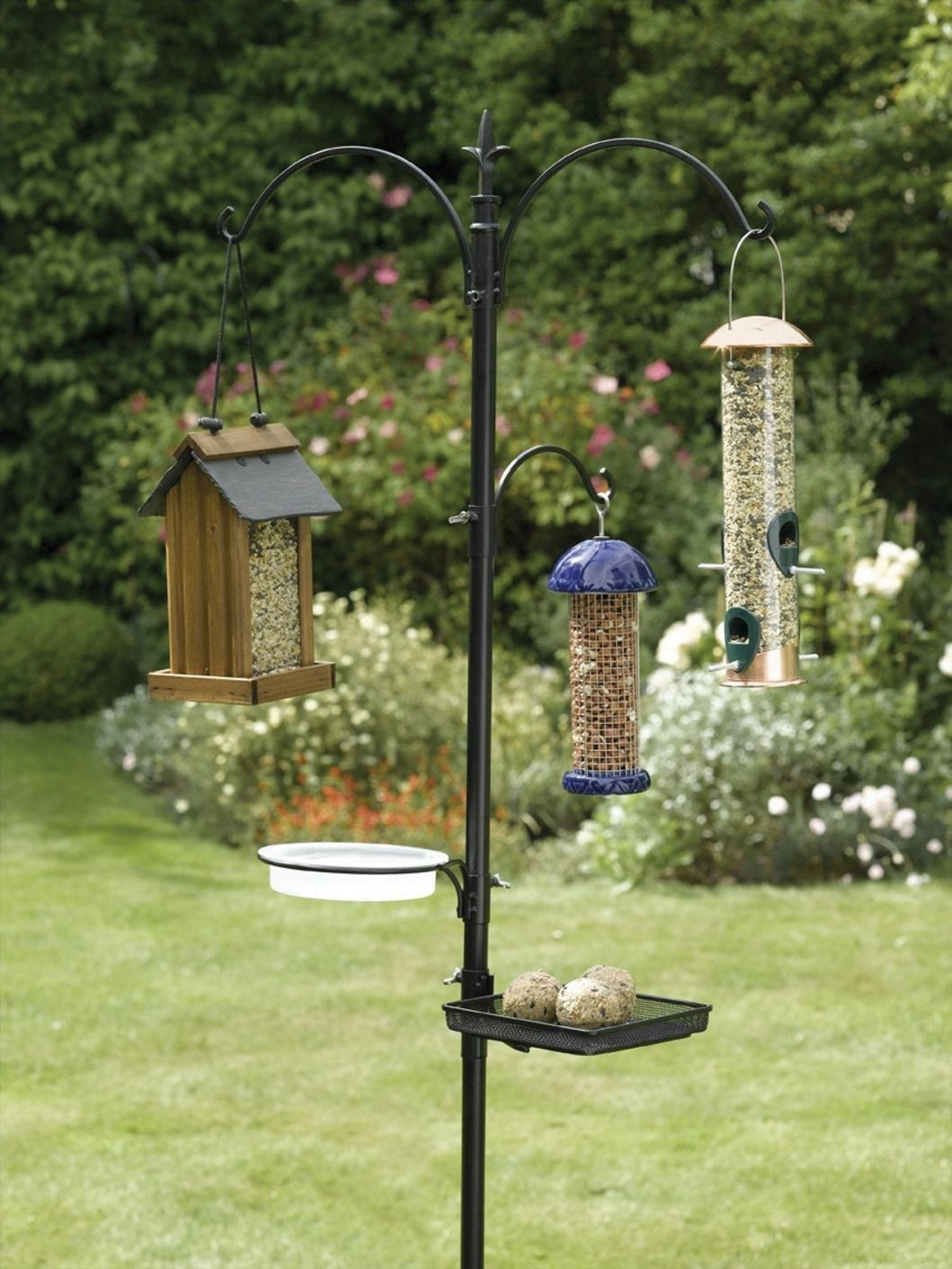 Gardman Usa 0280019 Wild Bird Feeding Kit Feeders Patio Lawn Garden