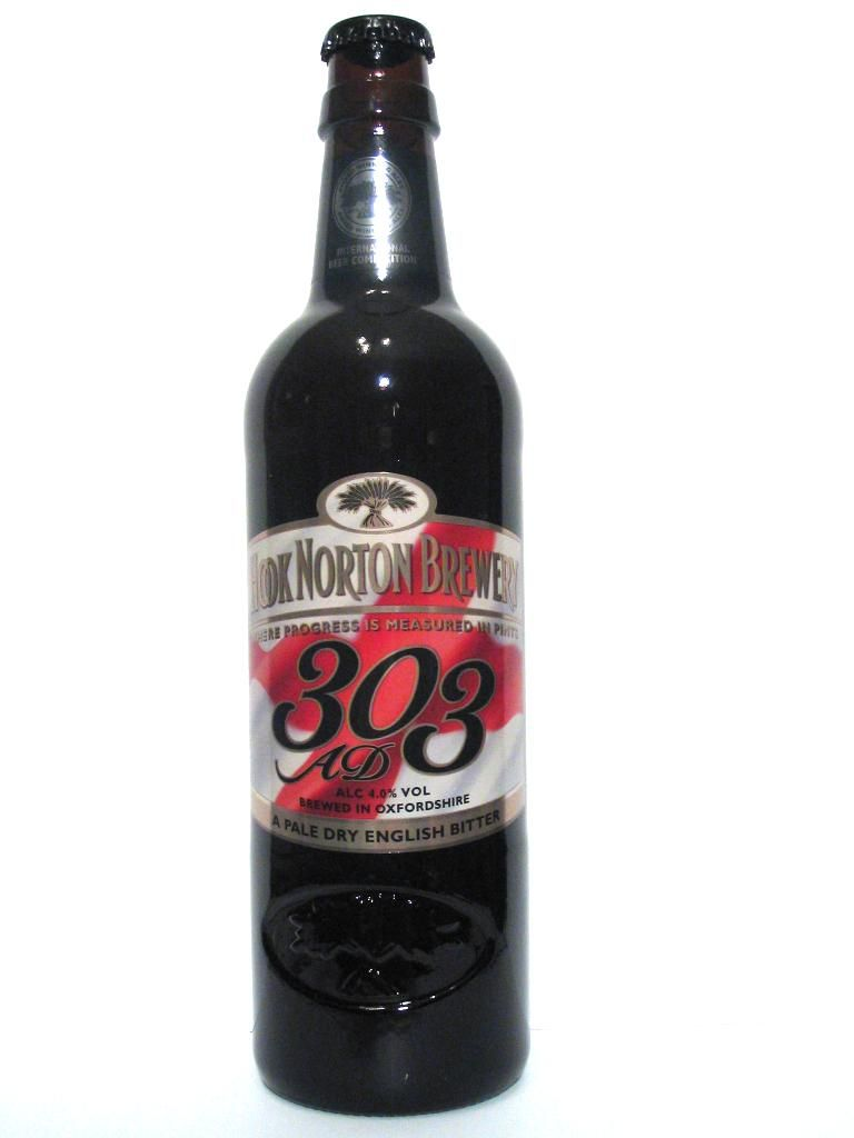 Hook Norton Brewery Co. ltd - 303 AD a pale dry english bitter 4,0% pullo