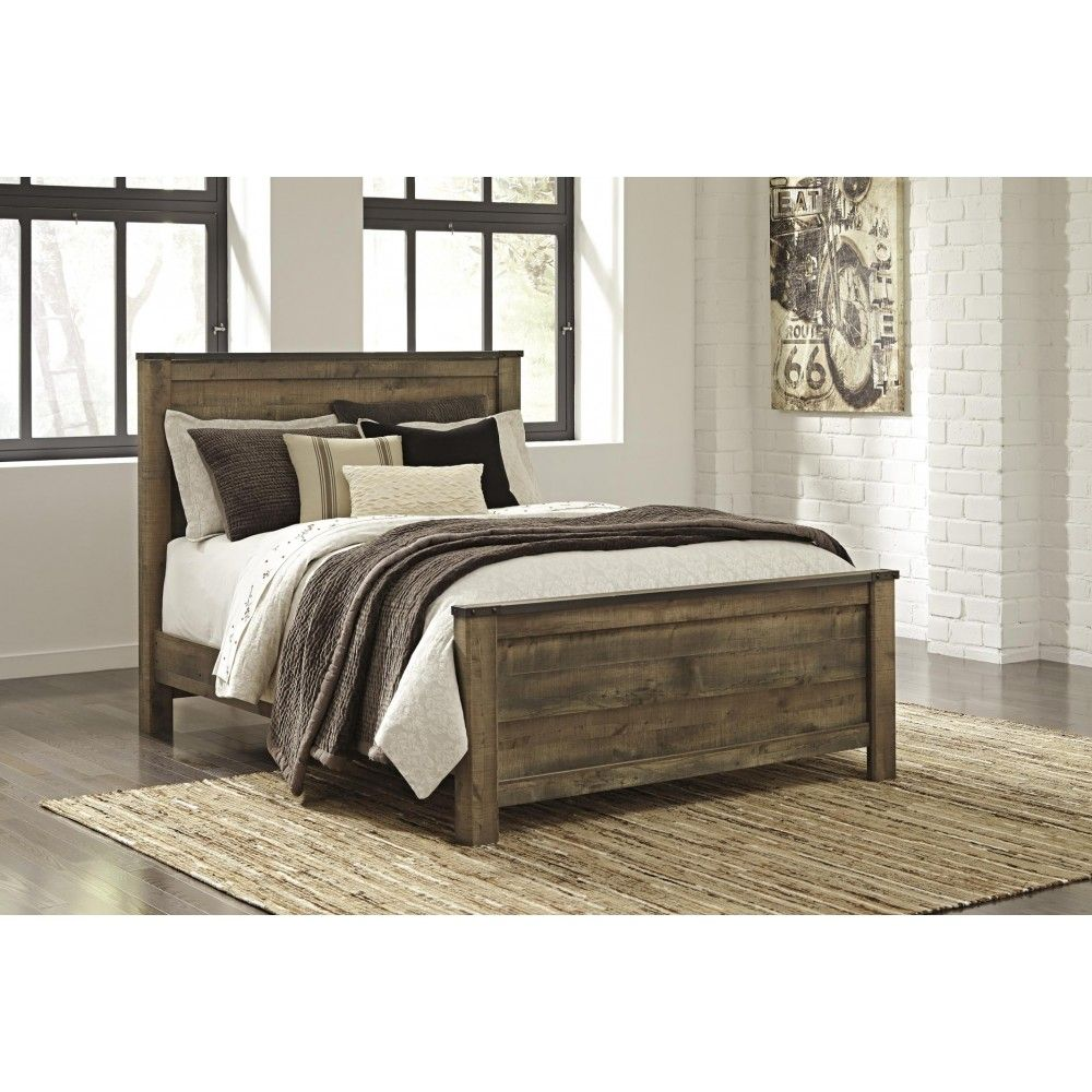 Queen size bed trinell furniture factory direct furniture factory direct