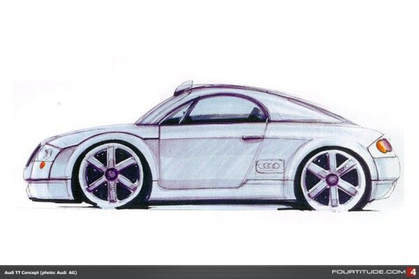 Audi Tt Mk1 Concept Drawing Audi Design Audi Tt Audi Audi Cars