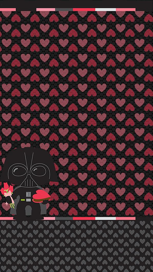 Darth vader valentine wallpaper wallpaper pinterest darth vader valentine wallpaper voltagebd Choice Image