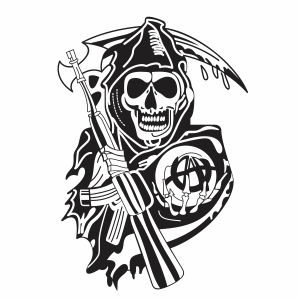 Pin On Sons Of Anarchy Svg File