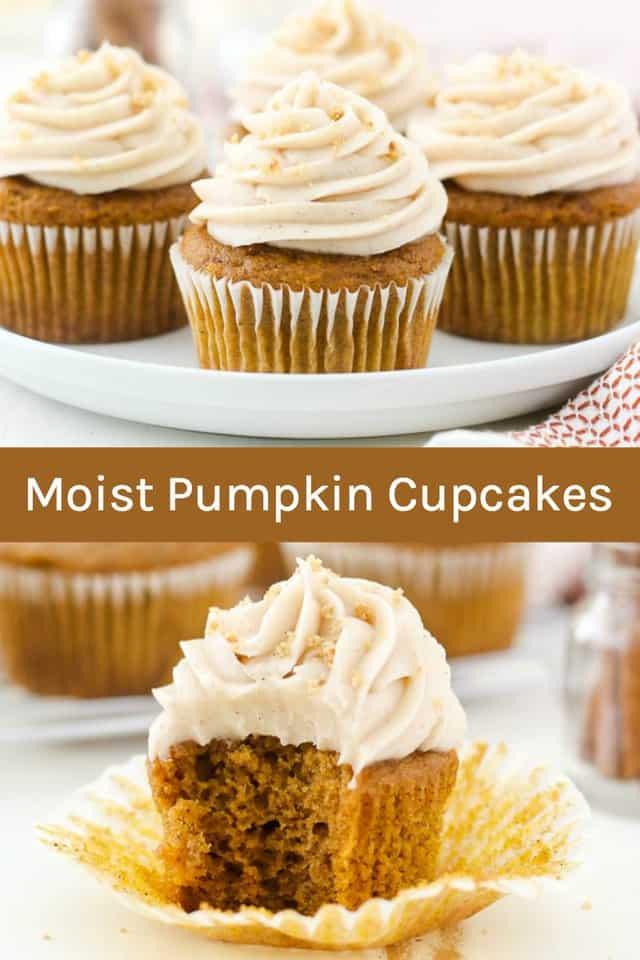 Moist Pumpkin Cupcakes - Beyond Frosting