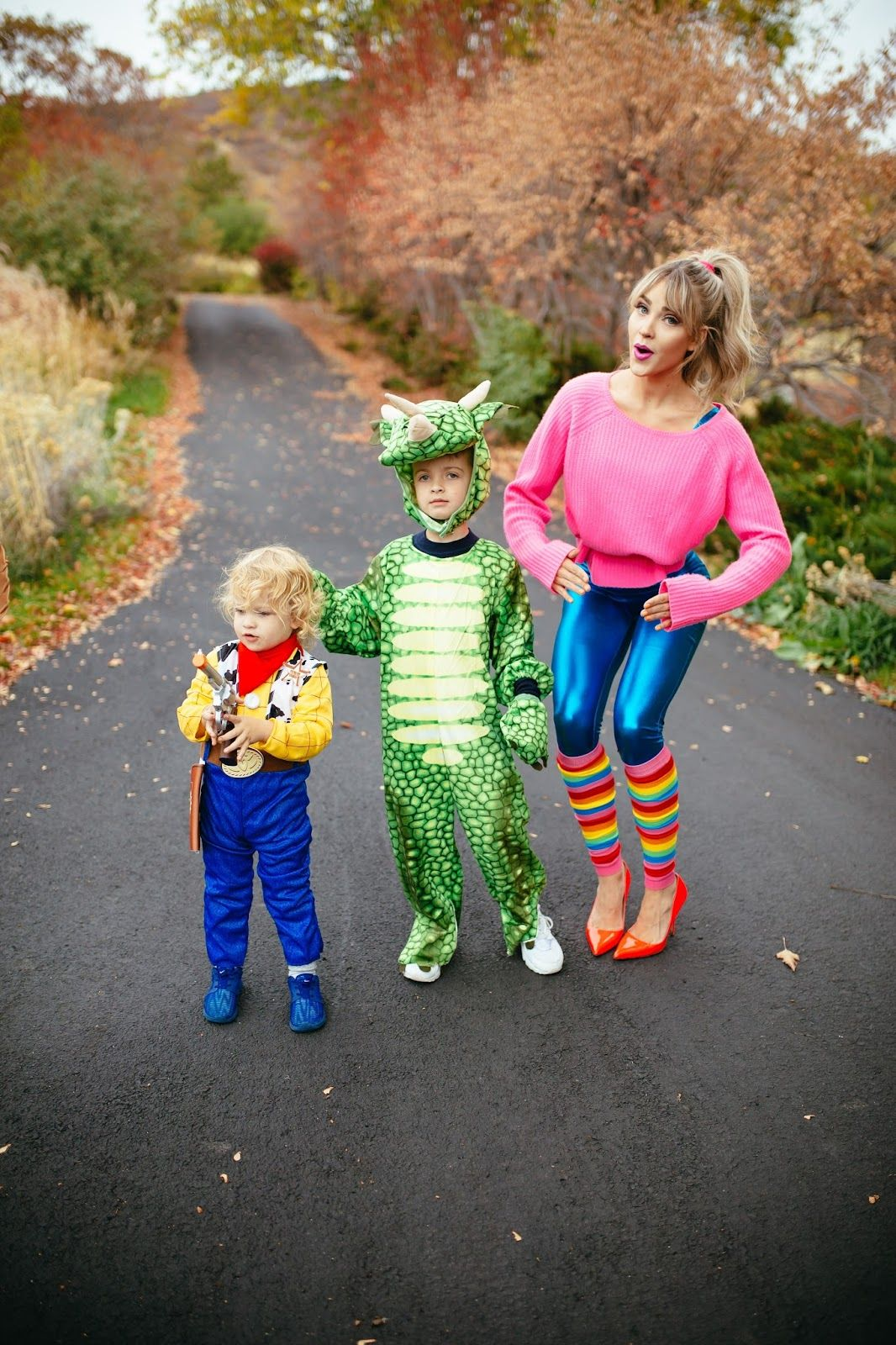 Toy Story costume woody rex and barbie  sc 1 st  Pinterest & Toy Story costume: woody rex and barbie | Cara Loren | Pinterest ...