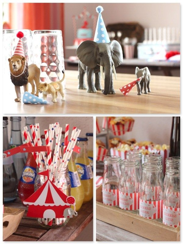 Photo of Children's birthday circus decoration