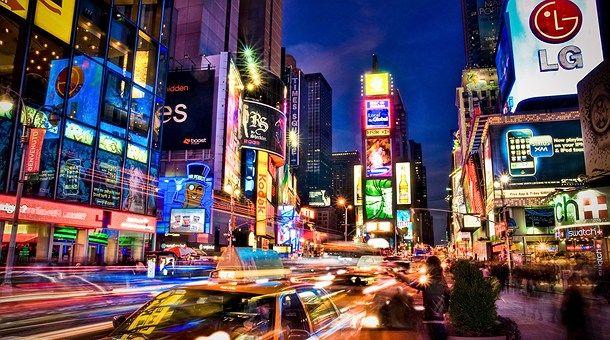 ¡Voy para Nueva York!