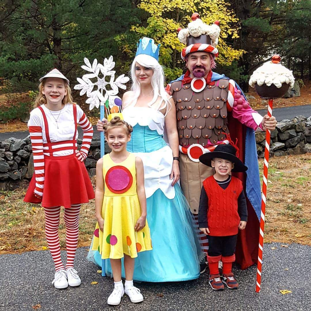 Homemade Candyland Costumes My Wife And I Made For Our -1043