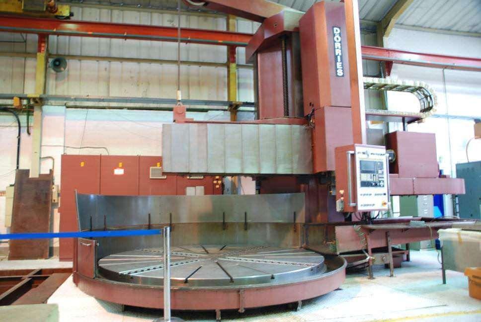 125 98 200 78 Dorries Cnc Vertical Boring Mill Cnc Machine Tools Vertical