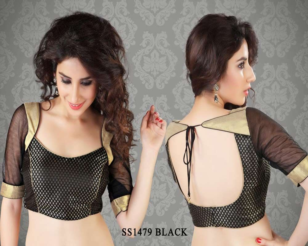 Beige golden brocade blouse blouse designs blouse designs for sarees - Silk Saree Blouse Designs Give A Distinctive Meaning To The Whole Concept Of Beauty And Elegance Here Are The Top Blouse Designs For Silk Sarees