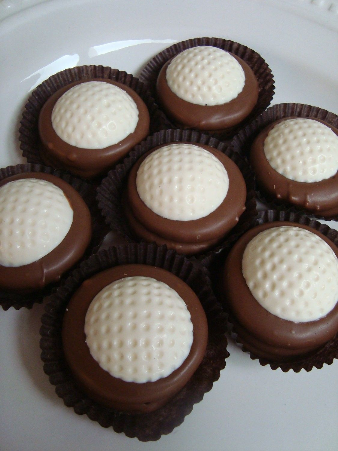 Golf Ball Chocolate Oreo Cookie Candy Sports Birthday Party ...