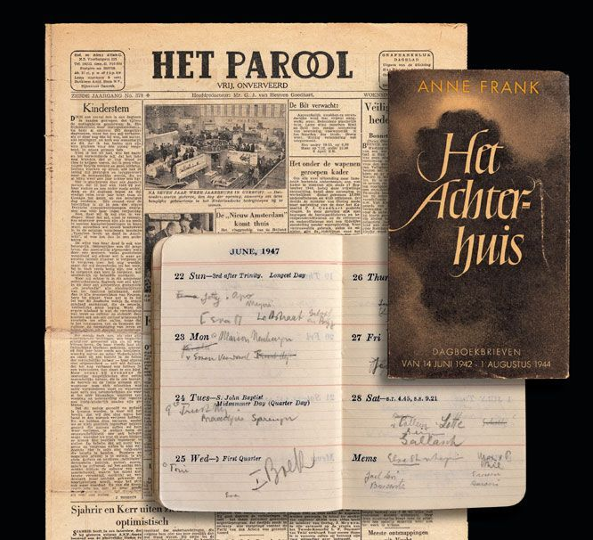 anne frank dagboek origineel - Cerca con Google