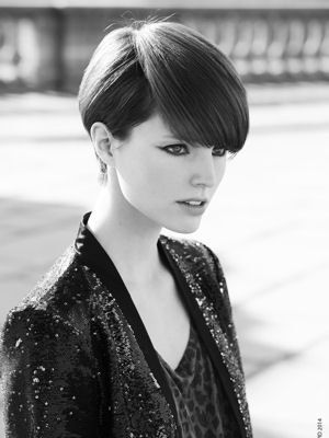 collection rock my city jean-louis david automne-hiver 2014-2015. | Hair styles, Cool short ...