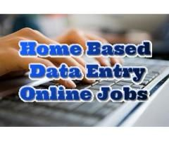 Home Based Data Entry Jobs With 100% guaranteed and Best