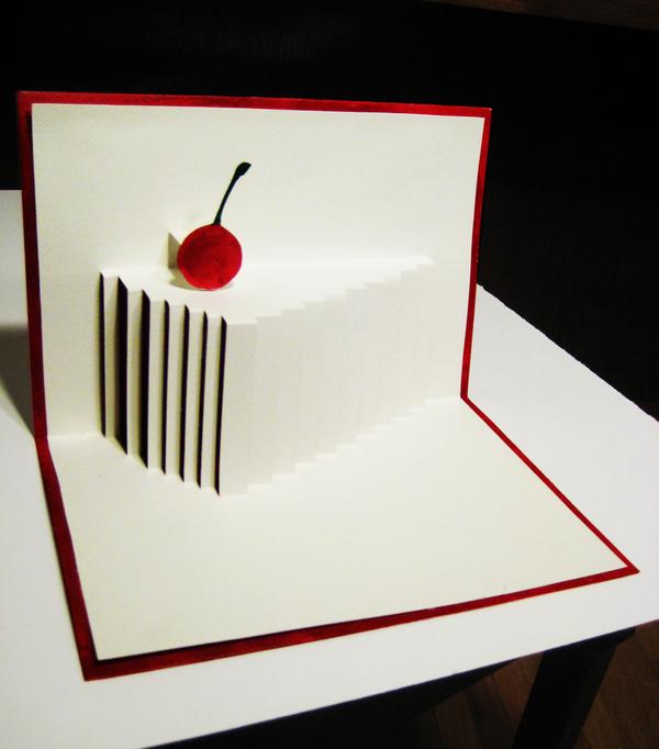 Cake Slice Popup Card Greeting Cards Diy 3d Cards Diy Cards Handmade