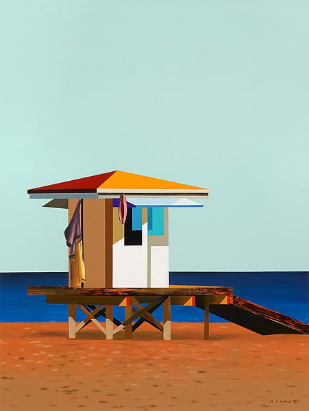Reminds me of growing up, long hot days at the beach Outlook 1 by Gregory Garrett: Giclee Print available at www.artfulhome.com
